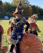 Cute Scarecrow Homemade Costume