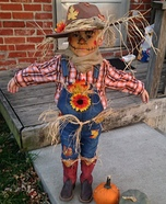 Cute Scarecrow Homemade Costume