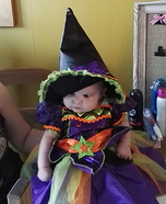 Cute Witch Baby Costume