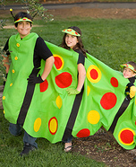 Homemade Caterpillar Costume for Kids