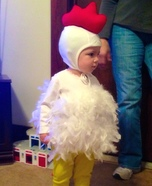 Cutest Chicken Homemade Costume