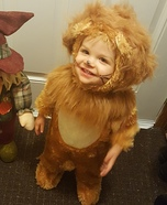 Cutest Cowardly Lion Costume