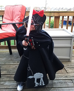 Cutest Darth Vader Homemade Costume