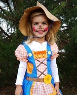 Cutest Scarecrow Costume DIY