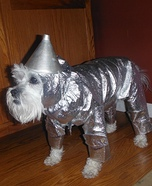 Cutest Tin Man Dog Costume