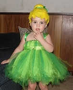 Cutest Tinkerbell Homemade Costume