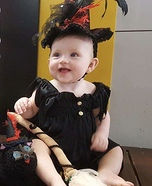 Cutest Witch Homemade Costume