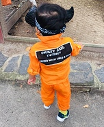 Cutie Baby Prisoner Homemade Costume