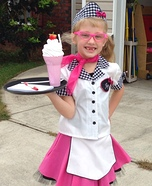 Cutie Car Hop Homemade Costume