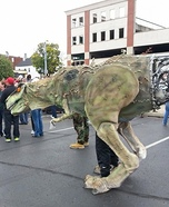 Cyborg T-Rex Homemade Costume