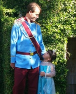 Daddy and his Little Princess Homemade Costume