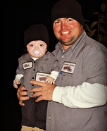 Daddy and His 'Mini-Me' Costume