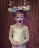 Daddy's Deer Homemade Costume