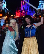 Daenelsa and Jon Snow White Homemade Costume