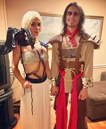 Daenerys, Daario and Dragon Homemade Costume