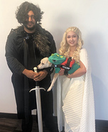 Daenerys Targaryen and Jon Snow Homemade Costume