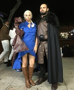 Daenerys Targaryen, Jon Snow and Dragon: Game Of Thrones Homemade Costume