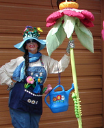 Daisy Gardeness Homemade Costume