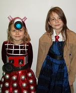 Halloween costume ideas for girls: Dalek and The Tenth Doctor Costume
