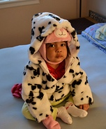 Dalmatian Puppy Homemade Costume