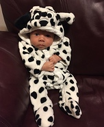 Dalmatian Puppy Dog Baby Costume