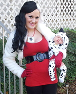 15 best matching diy costumes for babies and parents diy matching costumes for babies and parents dalmatian puppy cruella de vil costume solutioingenieria