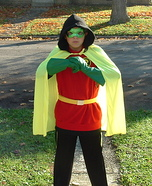 Damian Wayne Robin Homemade Costume
