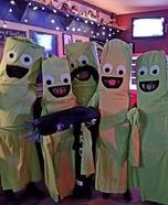 Dancing Windsock Tubemen Homemade Costume