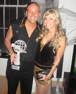 Kym Johnson and Hines Ward Costume