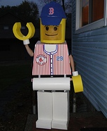 Daniel Nava Lego Minifigure Homemade Costume