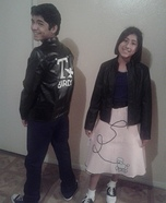 Danny and Sandy from Grease Homemade Costume