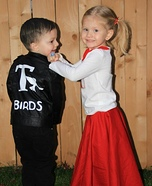 Danny Zuko & Sandy Olsson Homemade Costume