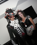 Dark Alice and Mad Hatter Costume