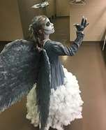 Dark Angel Coming from the Clouds Homemade Costume