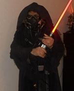 Dark Jedi Homemade Costume