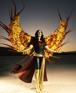Dark Phoenix Homemade Costume