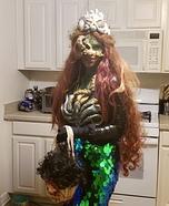 Dark Sea Siren Homemade Costume