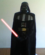 Homemade Darth Vader Costume