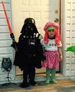 Darth Vader and Strawberry Shortcake Kids Costumes