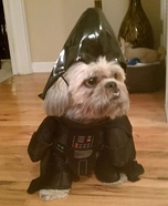 Darth Vader Dog Costume