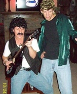 Daryl Hall and John Oates Homemade Costume