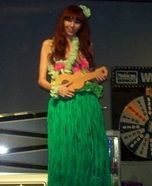 Dashboard Hula Girl Homemade Costume
