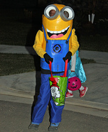 Minion Dave Homemade Costume