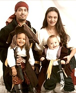 Pirates Family Costumes