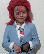 David Bowie Homemade Costume