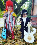 David Bowie and Prince Homemade Costume