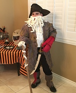 Davy Jones from The Pirates of the Carribean Costume