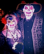 Day of Dead Couple Costume