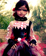 Day of the Dead Beauty Homemade Costume