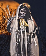 Day of the Dead Daisy Homemade Costume